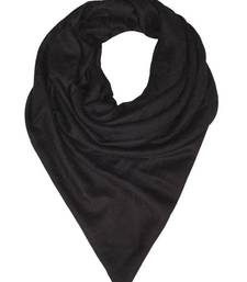 Buy STUNNING BLACK STOLE BY ELABORE stole-and-dupatta online