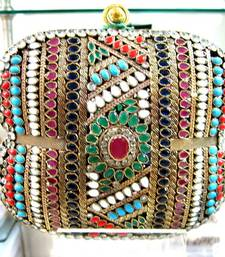 Buy Royal Designer Ethnic Collection clutcher clutch online