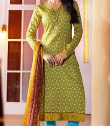 Buy Kick With Green Coloured Salwar Suit salwars-and-churidar online