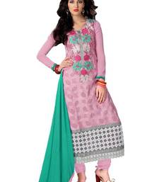 Buy Bipson Entic With Pink Coloured Salwar Suit Kameez salwars-and-churidar online