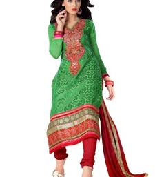 Buy Bipson Entic With Green Coloured Salwar Suit Kameez salwars-and-churidar online