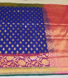 Buy AR 1007  Saree handloom pure silk/ jeorjet banarasi-silk-saree online