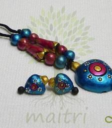 Buy Terracotta Jewelry - MEDIUM Set _TMS44 necklace-set online