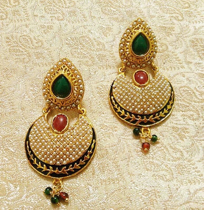 Buy Designer Bollywood Jhumka Jewellery Earrings For