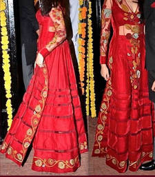 Buy JENELIYA RED SUIT bollywood-salwar-kameez-online online