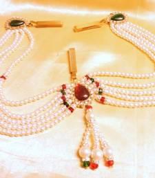 Buy stylo red green pearl waistbelt waist-belt online