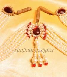 Buy red stylo pearl waistbelt waist-belt online