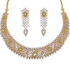 Buy Heena Contemporary collection Necklace set @ HJNL126G Necklace online
