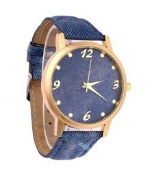 Buy Blue Denim Statement Watch watch online