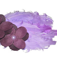 Buy Feather toddler Headband(Eggplant ) hair-accessory online