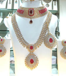 Buy Designer AMD Necklace Collection Set necklace-set online