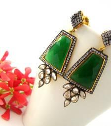 Buy Green Celebrity Earrings stud online