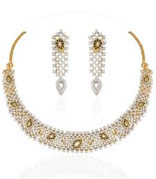 Buy Heena Classic Collection Necklace Set > HJNL126B Necklace online