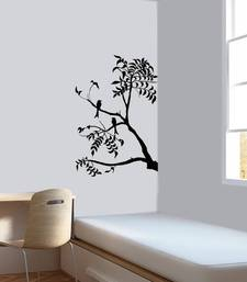 Buy Drongo bird on a branch wall-decal online