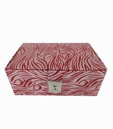 Buy Tropez Tiger Jewellery Box Red jewellery-box online