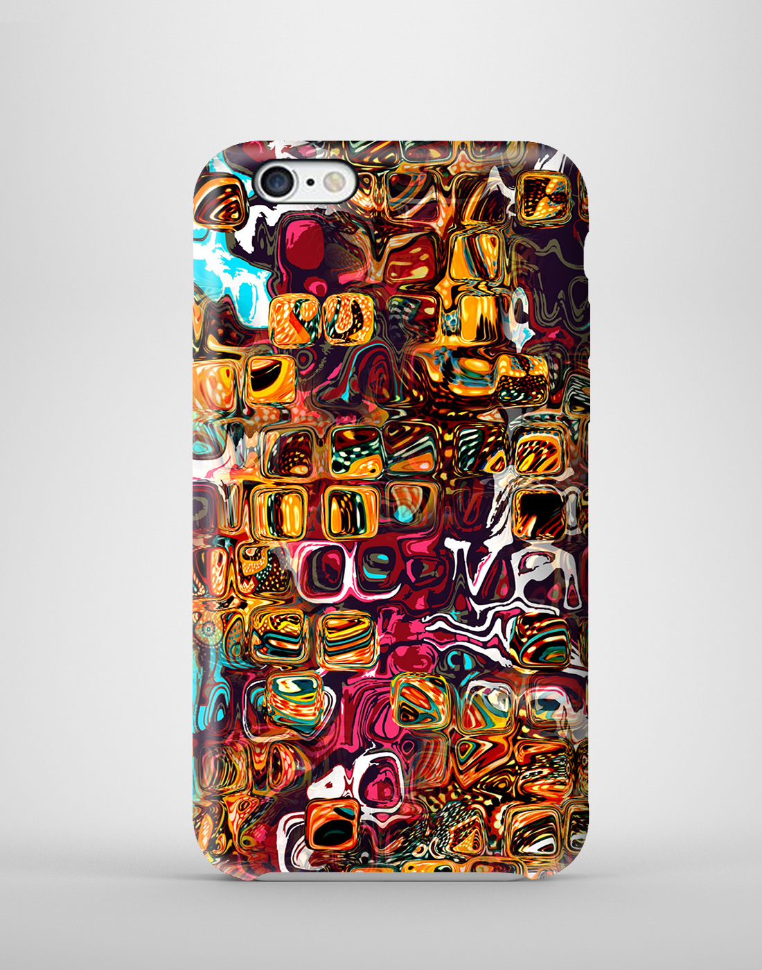 Buy melting jelly 3d printed mobile case for iphone6 online for Case 3d online