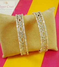 Buy Set of Six CZ Bangles Size 2.6 bangles-and-bracelet online