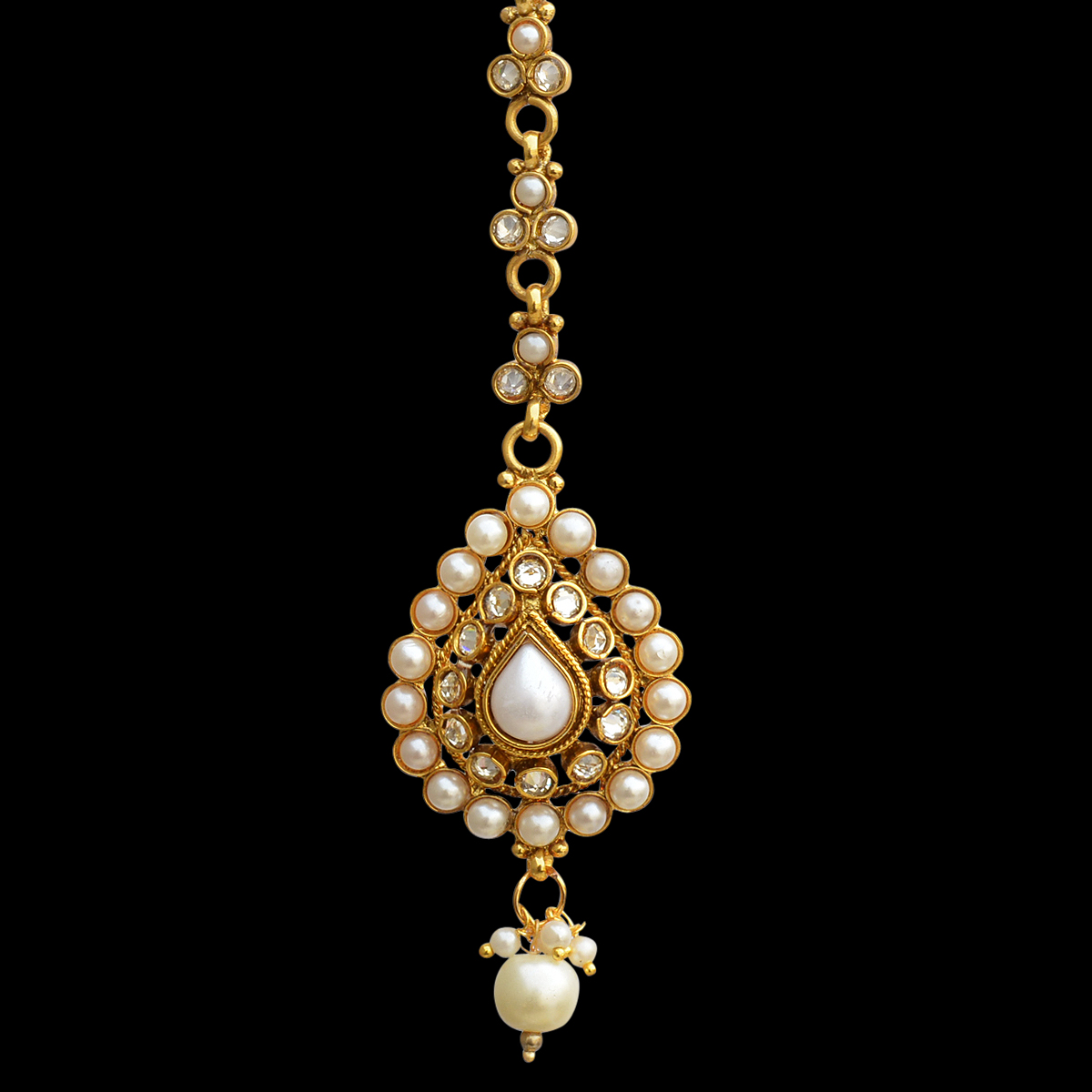 Buy Ethnic Indian Bollywood Hair Jewelry Gold Finish Maang