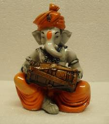 Buy Ganesha Playing Dholak housewarming-gift online