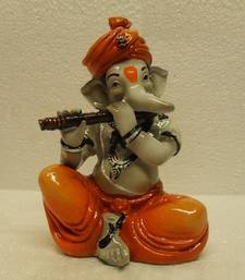 Buy Ganpati Playing Basuri/Flute other-home-accessory online