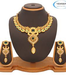 Buy Vendee Fashion Beautiful Necklace Jewelry For Lovely Women's (7203) necklace-set online