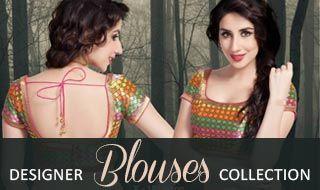 Designer blouses main
